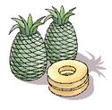 アトピー、ぜんそくを改善する、パイナップル、アトピーを治す食事
